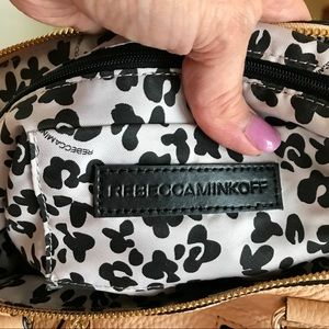 Rebecca Minkoff Bags - Rebecca Minkoff Moro Leather Satchel in Biscuit